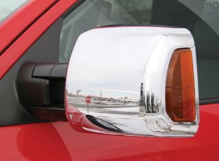 New Putco Chrome Side Mirror Covers Fits 2007 2012 Toyota Tundra