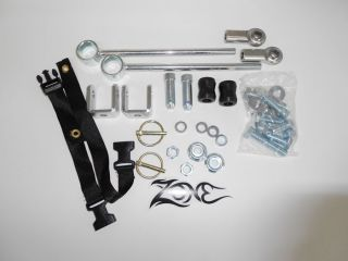 "1997 2006 TJ Jeep Wrangler Sway Bar Disconnects 3 4 5"" Zone Offroad"