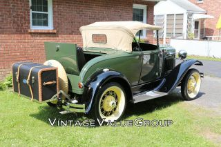 1930 Ford Model A Convertible with Rumble Seat