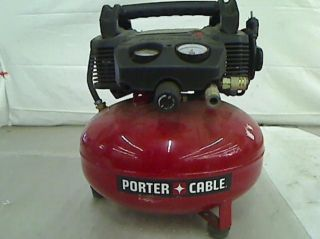 Porter Cable 6 Gal Portable Electric Air Compressor