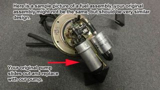 New Intank EFI Fuel Pump Replacement for BMW K1200LT 1997 2008