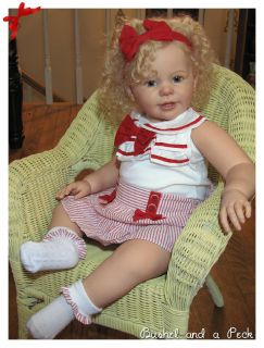 Beautiful Reborn Prototype Katie Marie Toddler Baby Girl Doll by Ann Timmerman