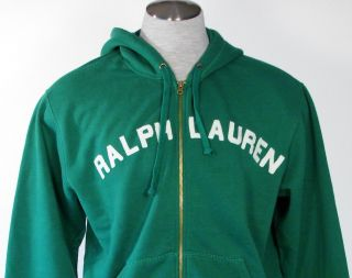Ralph Lauren Mens Hooded Jacket Sweatshirt Hoodie