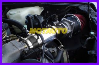 Black Red Nissan Pathfinder Pickup 3 0L V6 XE Le SE Air Intake Kit 1991 1995