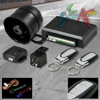 Car Auto Security Alarm System Siren Keyless Entry Multi Function Remote T12