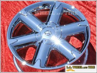 "Set of 4 New Nissan Murano 18"" Chrome Wheels Rims Altima 62421 Exchange"