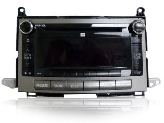 Toyota Venza JBL Radio 6 Disc Changer  CD Player Bluetooth A518AA Factory