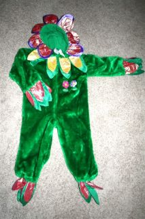 Child Plush Flower Halloween Costume Toddler Sz 2 4