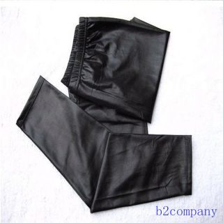 Women's Fashion Black Faux Leather Leggings Pants Tights Sexy Skinny Legging New