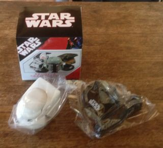 Takara Tomy Star Wars Miniature Mini Helmet Collection 2 Biker Scout SEALED