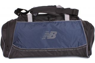 New Balance Momentum Large Duffel NB 066L New Men Women Unisex Black Navy