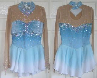 Made to Fit Ice Figure Skating Skate Dress Dance Costume Twirling Outfit