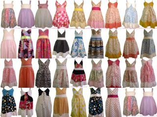Wholesale Apparel Dresses Girls Baby Children Clothes Kids Clothing 1 2 3 4 5 UK