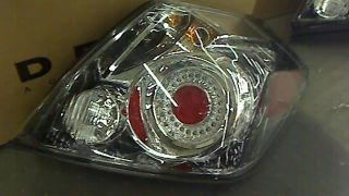 Depo 315 1959PXAS Nissan Altima Sedan Chrome LED Tail Light Assembly $189 96