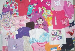 Summer Clothes Lot B Baby Girls 12 Months Outfit Dress Shirt Shorts Tops Huge MO