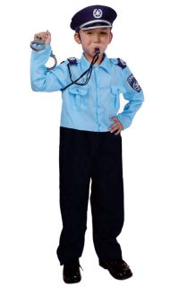 Israeli Police Officer Children's Costume New Size Medium 8 10