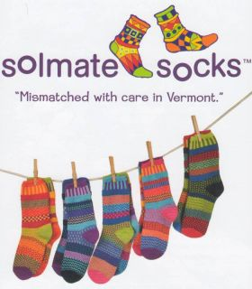Solmate Women Men Recycled Cotton Mismatched Socks New