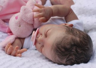 Reborn Newborn Baby Girl Doll New Sculpt Annie Sam's Reborn Nursery