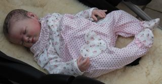 Beautiful Reborn Newborn Baby Girl Doll Rose Sam's Reborn Nursery