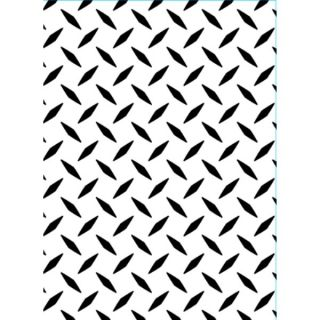Darice 4x6 Embossing Folder Diamond Plate Scrapbook Card Making 1218 101