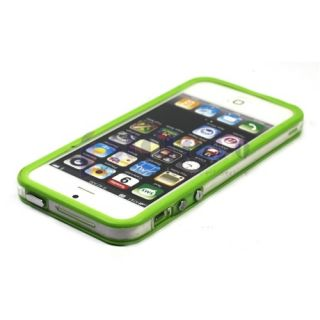 TPU Bumper Frame Silicone Skin Case for iPhone 5S 5 5th w Side Button