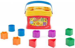 New Fisher Price Brilliant Basics Baby's First Blocks