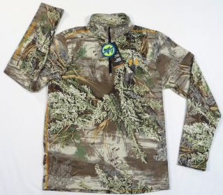 Under Armour All Season Gear Advantage Max 1 Camo Wind Stopper Shirt Mens