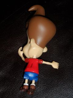 Nickelodeon Jimmy Neutron Action Figure 2001 Red Shirt Loose