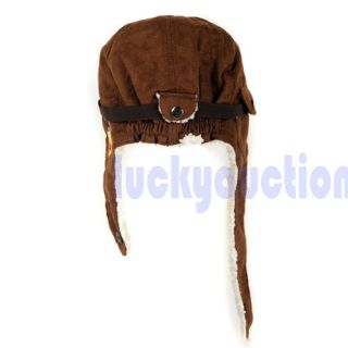 Cute Baby Toddler Boy Girl Kids Pilot Aviator Cap Warm Soft Hats Earflap Beanie