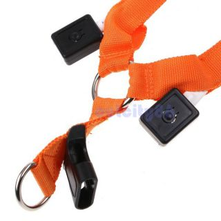 Glow LED Flashing Light Safety Dog Pet Belt Harness Leash Tether 3 Mode 5 Colors