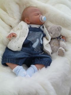 Tiny Creations Nursery Beautiful Reborn Baby Boy Alfie by Sebilla BOS