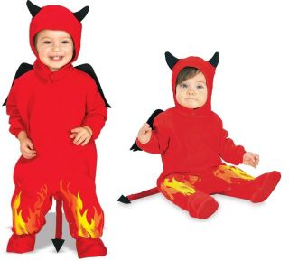 Boys Babies Toddler Kids Childrens Halloween Devil Jumpsuit Costume