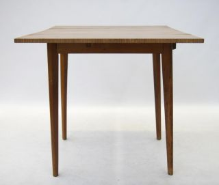 Retro Kitchen Table Mid Century Formica Dining Table Vintage 60s 70s Drop Leaf