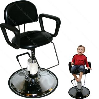 Children Hydraulic Barber Chair Child Kid Styling Hair Beauty Salon Equipment