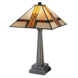 Dale Tiffany Edmund Mission Style 1 Light Table Lamp