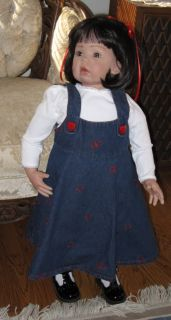 "Reborn Girl Toddler Doll "" Tibby "" by D RuBert Now Madylyn"