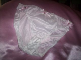 New Ribbons N Rosebuds Panties Sz 9 Bikini Adult Sissy Womens Mens TV CD Sexy