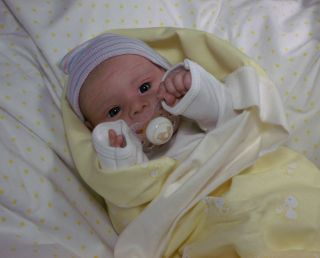 Le Josephine Klinger Beautifully Reborn Baby Boy Newborn Doll COA Included