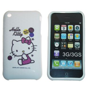 iPhone 3G 3GS Classic Cute Hello Kitty TPU Protector Cover Case Choose Design