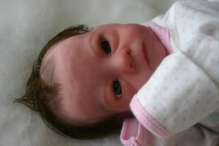 Reborn Dolls by Design Reborn Preemie Baby Girl Della Meredith by Bonnie Brown