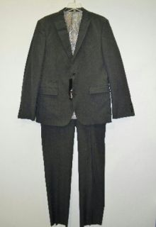 Mondo DiMarco Men's Slim Fit Grey Suit 44R 2 Button Jacket New Rtl $425 00