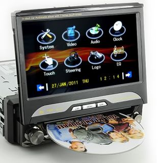 "King Viper 1 DIN Car DVD GPS Digital TV 7"" inch Screen"