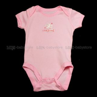 Newborn Infant Baby Girl Jumper One Piece Clothes 0 3 Months