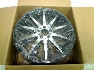 "Helo HE851 Gloss Black Wheel with Machined Face 20x8 5"" 5x4 5"" $424 00"