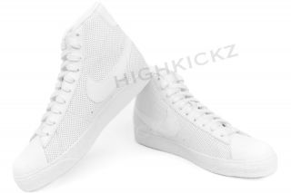 Nike Blazer Mid GS White Sneaker Big Kids Shoes Sz 3 7