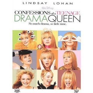Confessions of A Teenage Drama Queen Buena Vista Family DVD