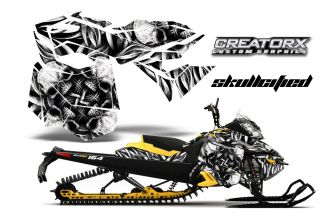 Ski Doo Rev XM Summit Snowmobile Sled Graphics Kit Decal Sfsy