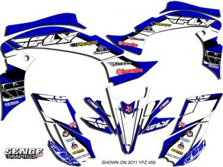 2003 2004 2005 2006 2007 2008 YFZ 450 YFZ450R 450 Yamaha Graphics Kit Deco Fly