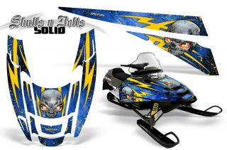 Polaris Edge Sled Snowmobile Graphics Kit Creatorx Wrap Snbsybl