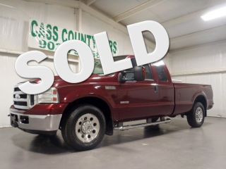 2007 F250 XLT Supercab 2WD Diesel Long Wheel Base 5th Fifth Wheel Hitch 1 Owner